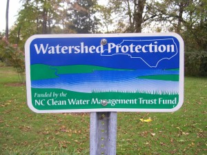 2009 Oct Watershed Protection sign